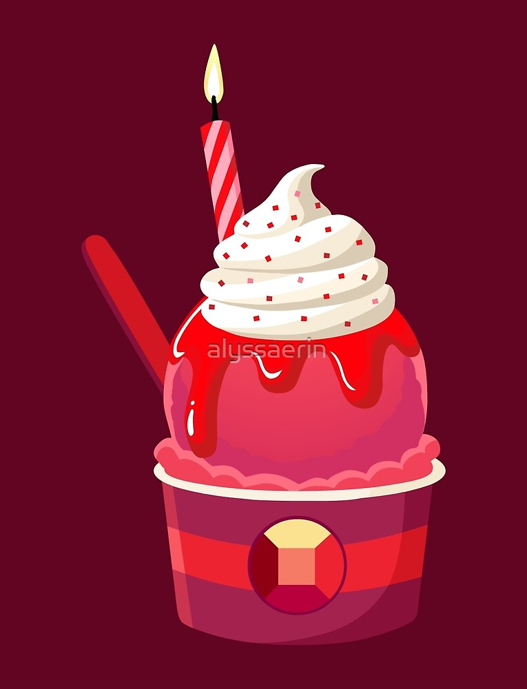 Universe Ice Cream - Ruby by alyssaerin