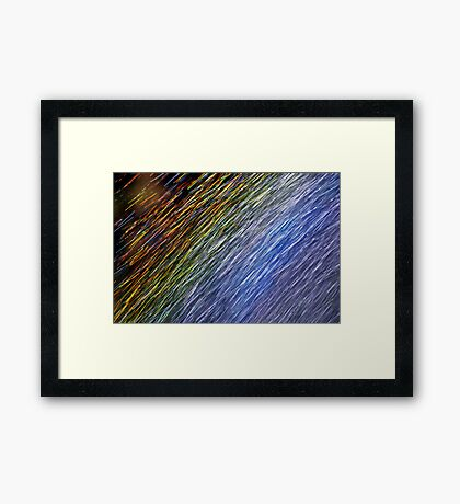 Rainbow - Up Close and Personal Framed Print