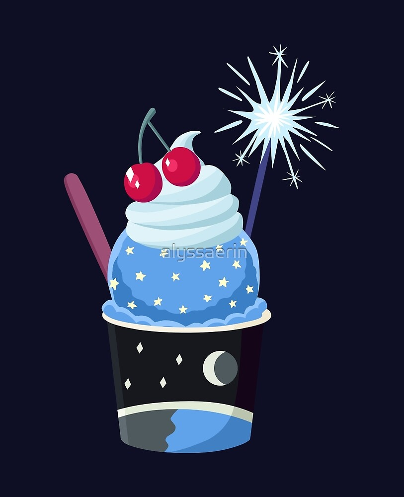 Universe Ice Cream - Greg Universe by alyssaerin