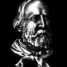 Giuseppe Garibaldi, portrait by kislev