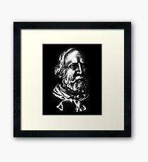 Giuseppe Garibaldi, portrait Framed Print