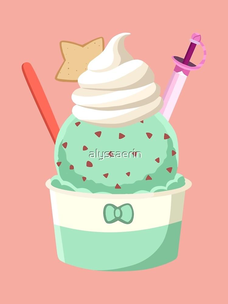 Universe Ice Cream - Connie by alyssaerin