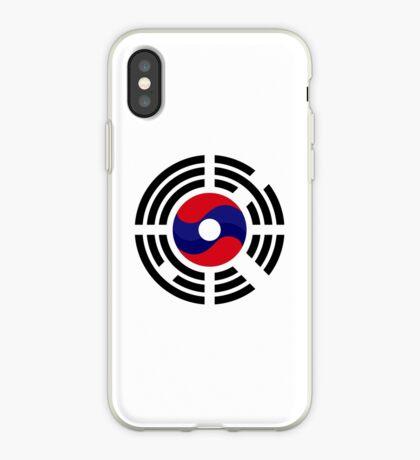 Lao Korean Multinational Patriot Flag Series iPhone Case
