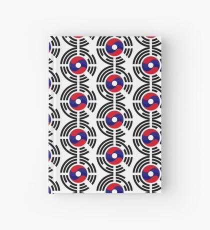 Lao Korean Multinational Patriot Flag Series Hardcover Journal