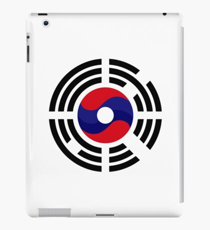 Lao Korean Multinational Patriot Flag Series iPad Case/Skin