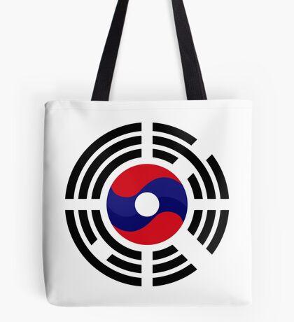 Lao Korean Multinational Patriot Flag Series Tote Bag