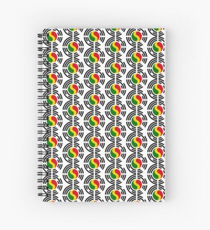 Korean Mali Multinational Patriot Flag Series Spiral Notebook
