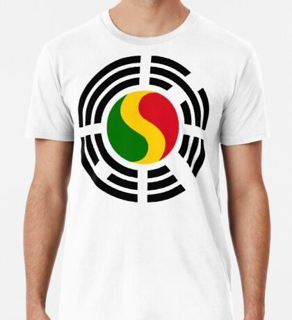 Korean Mali Multinational Patriot Flag Series Premium T-Shirt