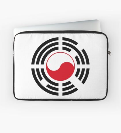 Polish Korean Multinational Patriot Flag Series Laptop Sleeve