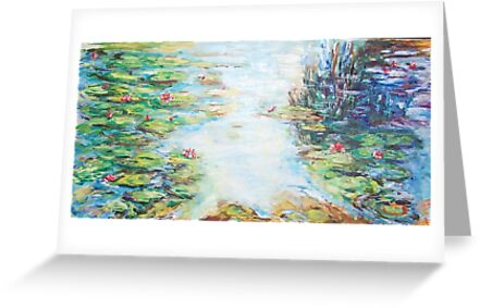 Light over the Pond  by Mary Sedici