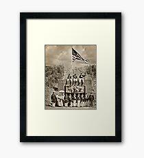 USS Tahoma Marines Framed Print