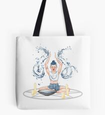 Modern Water Witch Tote Bag