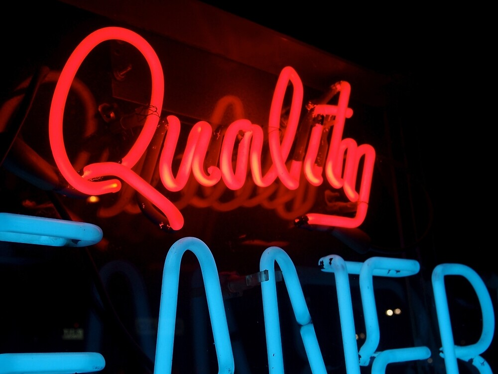 Quality in Neon by Douglas E.  Welch