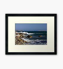 Power Of The Ocean Framed Print