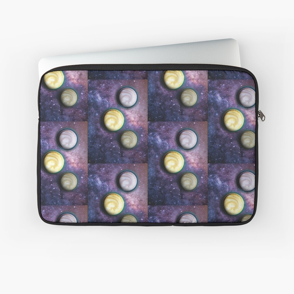 Cappuccino Planets Laptop Sleeve