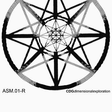 Lucas Darklord - Asmoir Probe Logo - Black by CryptDesigners