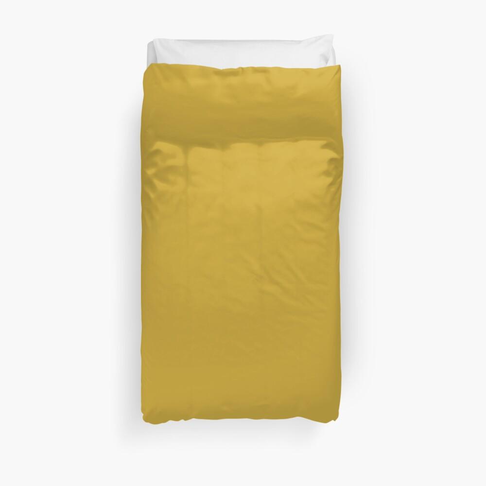 Lemon Curry 15-0751 TCX | Pantone | Color Trends | London | Fall Winter 2017 | Solid Color | Fashion Colors | Duvet Cover