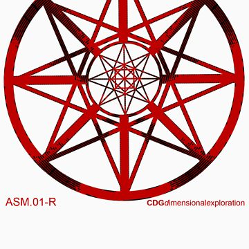 Lucas Darklord - Asmoir Probe Logo - Red by CryptDesigners