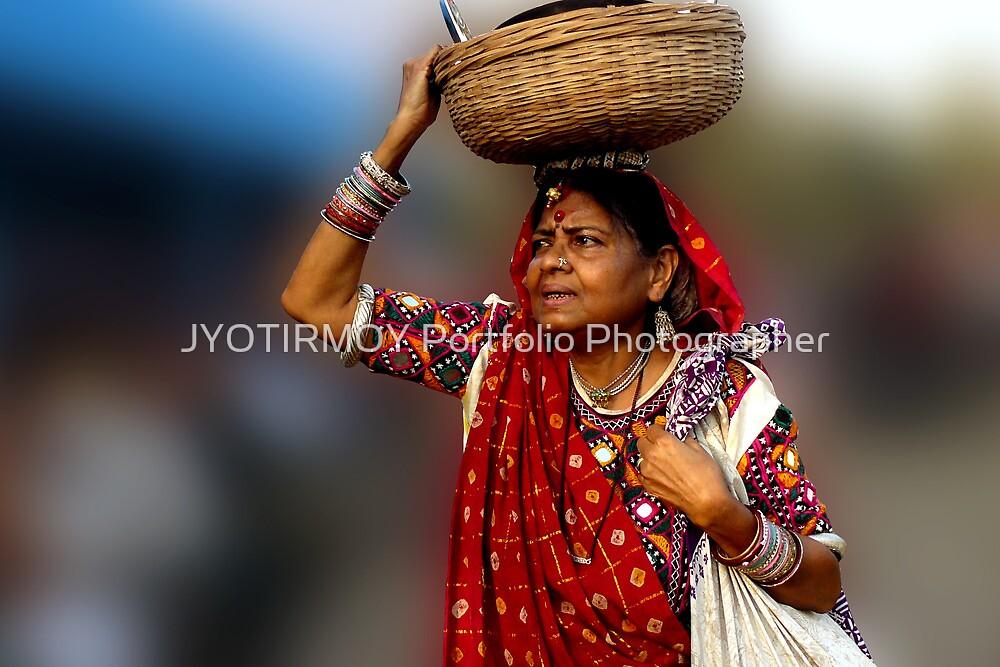 The Old lady  by JYOTIRMOY Portfolio Photographer