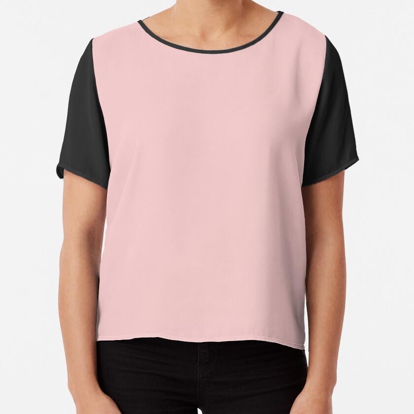 Rose Quartz 13-1520 TCX   Pantone Color of the Year 2016   Pantone   Color Trends   Solid Colors   Fashion Colors   Chiffon Top