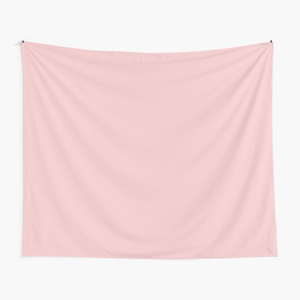 Rose Quartz 13-1520 TCX | Pantone Color of the Year 2016 | Pantone | Color Trends | Solid Colors | Fashion Colors | Wall Tapestry