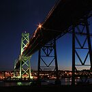 Angus L. Macdonald Bridge by Amanda White