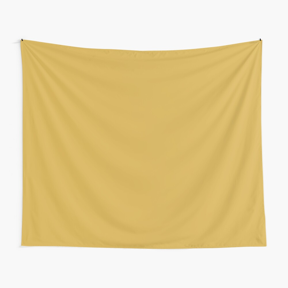 Spicy Mustard 14-0952 TCX | Pantone | Color Trends | Fall Winter 2016 | Solid Colors | Fashion Colors | Wall Tapestry