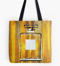 Yellow 5 Perfume Bottle Tote Bag