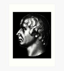Admiral Nelson, portrait  Art Print