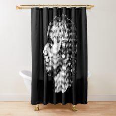 Admiral Nelson, portrait  Shower Curtain