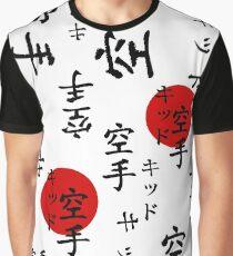 Lucas ist das Karate Kid Outfit Grafik T-Shirt