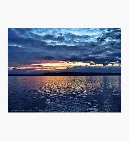 Puget Sound Sunset Photographic Print