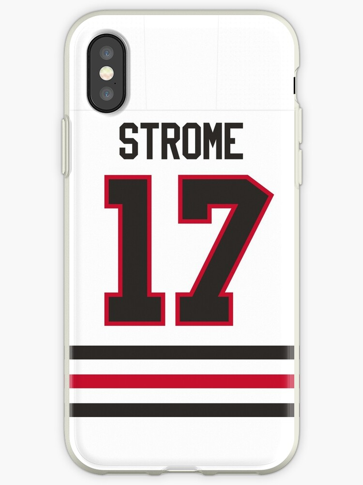 official photos 3fa2d 6ea72 'Chicago Blackhawks Dylan Strome Away Jersey Back Phone Case' iPhone Case  by IAmAlexaJericho