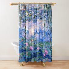 Water Lilies Monet Shower Curtain