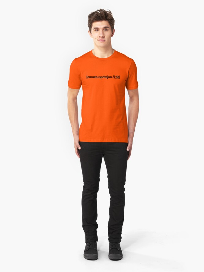 Alternate view of enmetu spritajxon cxi tie Slim Fit T-Shirt