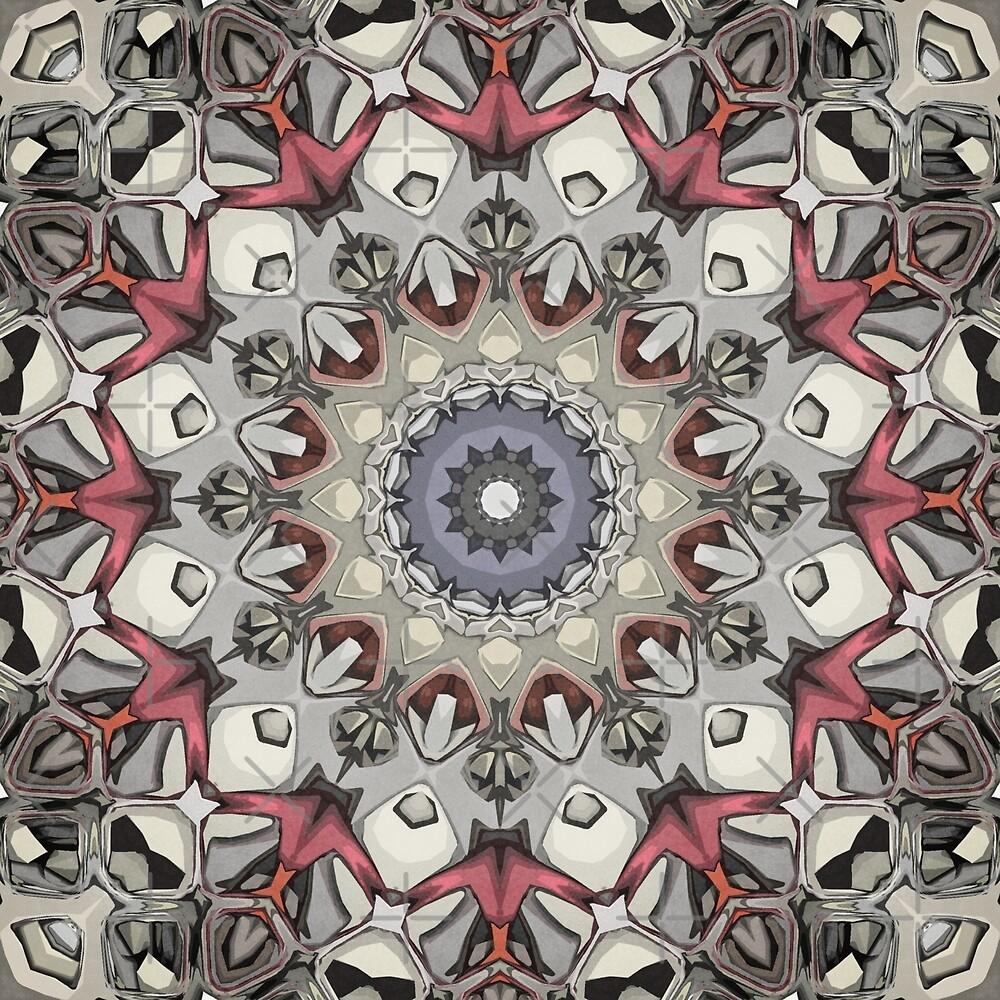 Textured Mandala by Phil Perkins