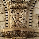 Celtic Knot, Austin Hall, Harvard by Jane McDougall