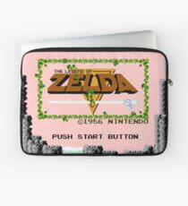 Zelda - The Saga Begins Laptop Sleeve