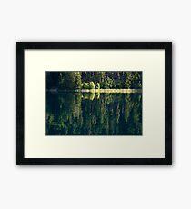 Lake Weissensee Framed Print