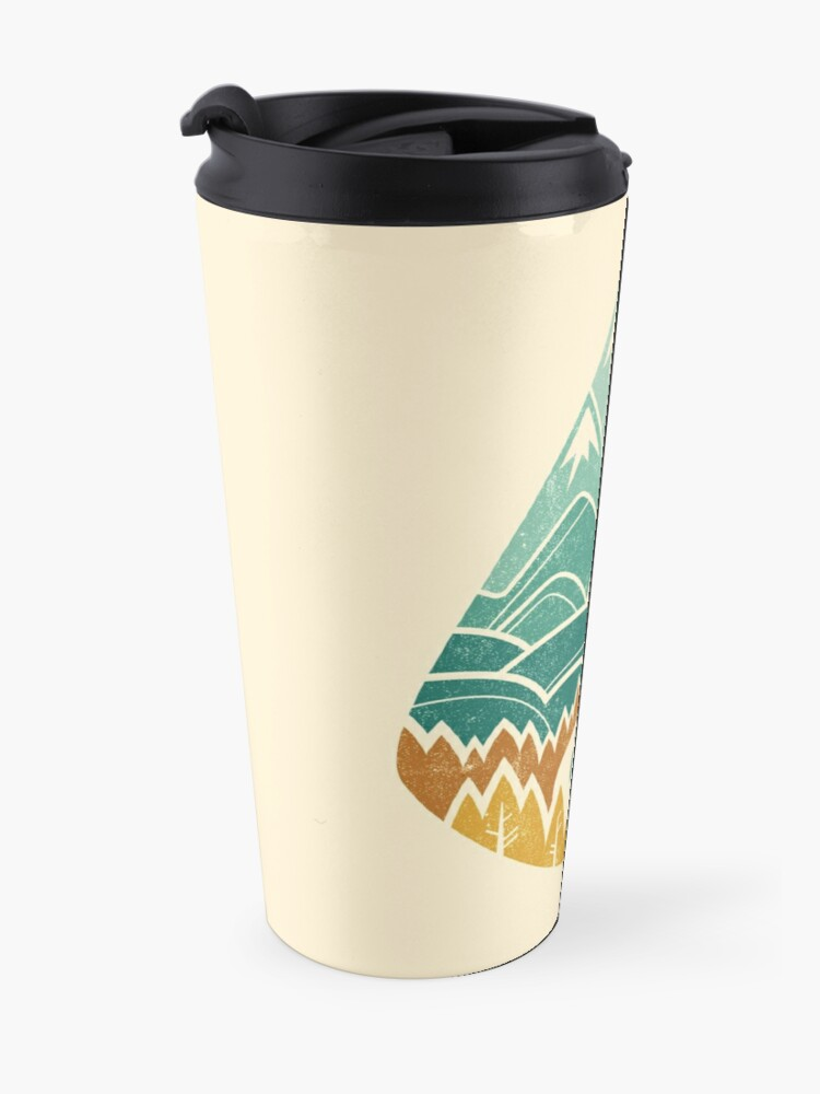 Alternate view of The Road Goes Ever On: Autumn Travel Mug