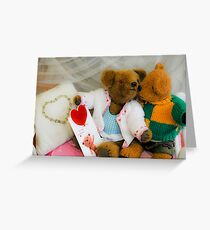Teddy bears 7 Greeting Card