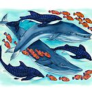 Blue Whales and Friends by Marta Tesoro