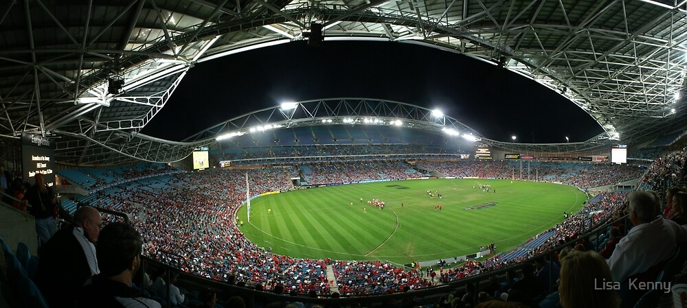 Telstra Stadium, Sydney by Lisa Kenny