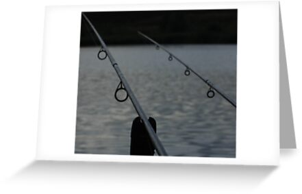 Fishing Rods by Dawn OConnor