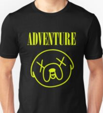 Jake Adventure Time Face T-Shirt