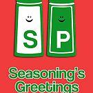 Seasoning's greetings by fashprints