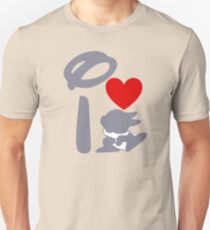 I Heart Thumper (Inverted) Unisex T-Shirt