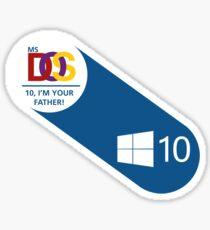 Windows' origins Sticker