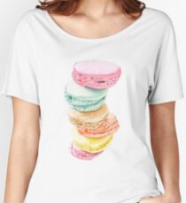 Macarons Women's Relaxed Fit T-Shirt