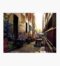 Back Lane - Melbourne's Graffiti, Hossier Lane Photographic Print